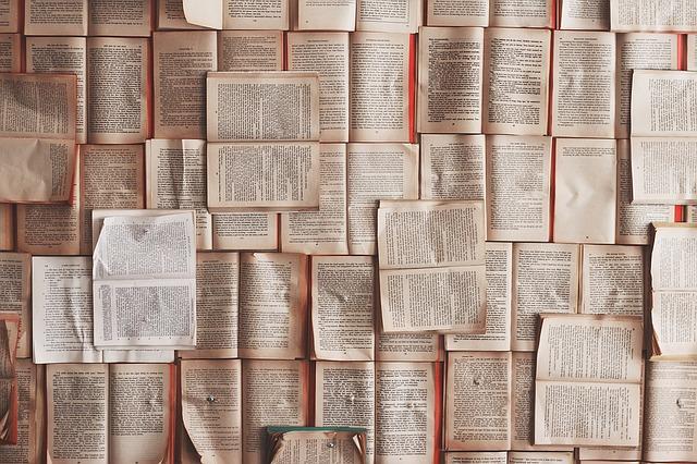 otevřené knížky