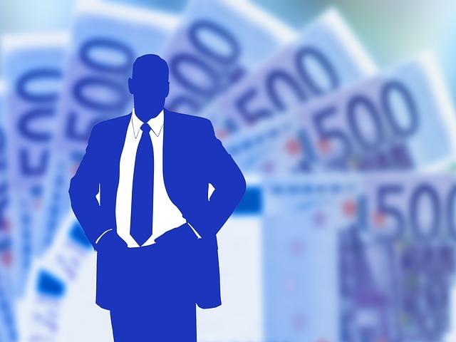 silueta a peníze